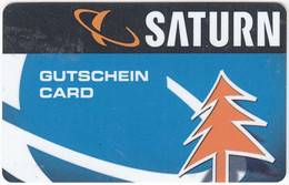 Gift Card A-491 Austria - Saturn / Electronic Store - Used - Gift Cards