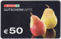 Gift Card A-495 Austria - Spar / Supermarket - Used - Gift Cards