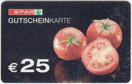 Gift Card A-496 Austria - Spar / Supermarket - Used - Gift Cards