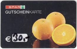 Gift Card A-497 Austria - Spar / Supermarket - Used - Gift Cards