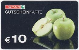 Gift Card A-498 Austria - Spar / Supermarket - Used - Gift Cards