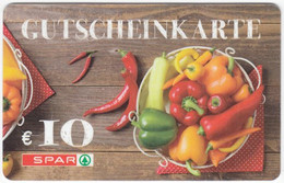 Gift Card A-500 Austria - Spar / Supermarket - Used - Gift Cards
