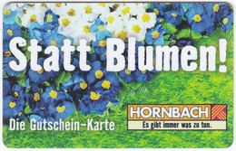 Gift Card A-506 Austria - Hornbach / Hardware Store - Used - Gift Cards