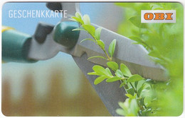 Gift Card A-511 Austria - OBI / Hardware Store - Used - Gift Cards