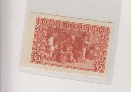 BOSNIA AND HERZEGOVINA AUSTRIA 1906 45 H   Imperforated Hinged - Bosnie-Herzegovine