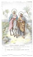 Canivet / Devotieprent / Image Pieuse, Jésus, Marie, Joseph, éclairez-nous ... - Santini