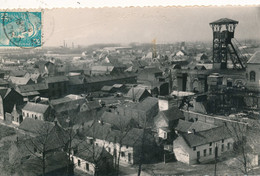 Quiévrechain (59 Nord) Vue Panoramique - La Fosse De La Compagnie Des Mines De Crespin Ancien Charbonnage Carte CPSM N&B - Autres Communes