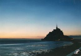 CPM - E - MANCHE - LE MONT SAINT MICHEL - COUCHER DE SOLEIL - Le Mont Saint Michel
