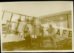 1927 AMATEUR PHOTO FOTO AVION PLANE AIRCRAFT F-CAFB DORAND AR1  BRAGA MINHO LYON LE BOURGET PARIS FRANCE - Aviación