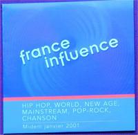 France Influence - Midem Janvier 2001 (CD) - Compilations