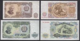 BULGARIEN - BULGARIA 50 + 100 Leva Pick 85 + 86 AUNC (1-)    (29281 - Bulgaria