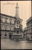 Italia - Circa 1900 - Cartolina Postale - Napoli - Piazza S. Domenico Maggiore - A1RR2 - Napoli