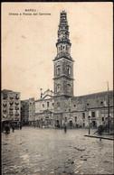 Italia - Circa 1900 - Cartolina Postale - Napoli - Chiesa E Piazza Del Carmine - A1RR2 - Napoli