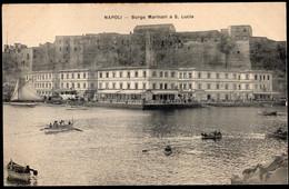 Italia - Circa 1900 - Cartolina Postale - Napoli - Borgo Marinari A S. Lucia - A1RR2 - Napoli
