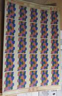 ABT21 Très Rare Décal Années 60/70 ABT : SERIE 1/48e CAMOUFLAGE EN LOSANGES ALLEMAND 1917-18 DESSUS - Decalcografie