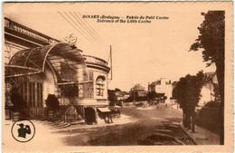 31pp 234 CPA - DINARD - ENTREE DU PETIT CASINO - Dinard