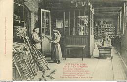 MINE MINEURS AU PAYS NOIR. Le Magasin 1909 - Mines