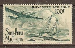ST PIERRE Et MIQUELON PA N°19** - Cote 17.25 € - Ungebraucht
