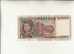 Banca D'Italia, 5000 Lire - Antonello Da Messina - Dec. 19 - 10 - 1983 - Ciampi / Stevani  FDS - 5000 Liras