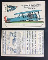Avion Aviation Aviateur Chocolat REVILLON  Chromo Image à Découper Et Plier - Revillon