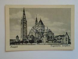 D183281  Old Postcard  Hungary  -SZEGED   Ca 1940 - Hungary