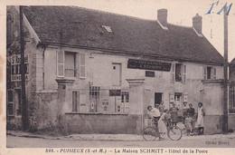 D77  PUISIEUX  La Maison SCHMITT Hôtel De La Poste - Altri Comuni