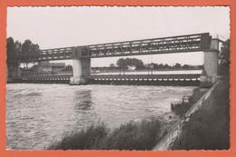 D60 - PONT SAINTE MAXENCE - LE BARRAGE - CPSM Dentelée Petit Format En Noir Et Blanc - Pont Sainte Maxence