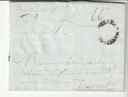 """Lettre De Limbé(Haiti) Avec Marque """"Colonies Par Nantes"""" Partie Le 1er Mars 1785,arrivée Le 14 Juillet 1785 - 1701-1800: Precursors XVIII"""