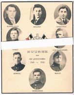 Dp. Oorlog. 8 Kuurnsche Soldaten Gesneuveld. Oorlog 1940-1945  (2 Scan's) 10,7 Cm - 13,6 Cm - Godsdienst & Esoterisme