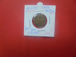 "Anvers-Antwerpen CAFE ""MASSON"" BON POUR 1 VERRE DE BIERE (A.14) - Monetari / Di Necessità"