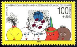 1472 Marke Aus Block 21 Briefmarkenausstellung O - Ohne Zuordnung