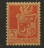 Algérie: N°(Dallay) 186a* Orange Sur Jaune Au Lieu De Vert (c. 2006: 42€) - Nuevos