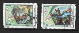 MONACO 1991 Yv 1797/8 Obli - - Used Stamps
