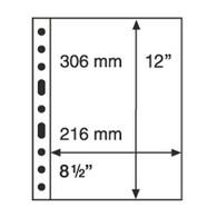 Leuchtturm Blankoblätter Klar Grande 1C (5 Stück Neu (H77 - Blank Pages