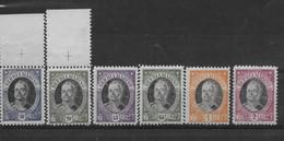 "SAN MARINO 1926 ** MNH  LUSSO "" A. ONOFRI "" 6 VALORI C699 - Unused Stamps"