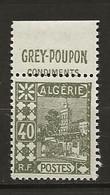 Algérie: N°45** Avec Pub GREY-POUPON Condiments - Unused Stamps