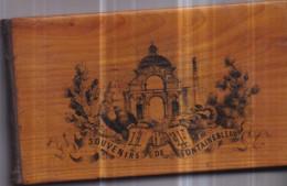 Dépt 77 - SOUVENIRS De FONTAINEBLEAU - 19è Siècle : SUPERBE ALBUM 23 Fines Gravures Présentées Par DENECOURT Circa 1860 - Fontainebleau