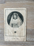 Communie - Prinses JOSEPHINE - CHARLOTTE - 1941 - Kapel Van Het Instituut Der Getrouwe Maagd / Koninklijke Kapel - LAKEN - Communion