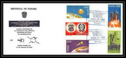 11394/ Espace (space Raumfahrt) Lettre (cover Briefe) Fdc Panama Uit Panama 12/8/1966 - South America