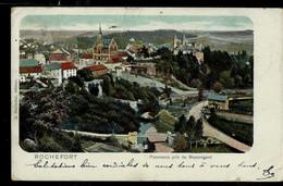 CP (Rochefort : Panorama Pris Du Beauregard) Obl. ROCHEFORT 1904 Avec Divers Renvoi Soit 8 Obl. - Rural Post