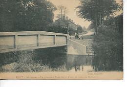 ECLY Ardennes Le Nouveau Pont De La Vaux Et Route De Rethel 1929 Edt Fichelet  ....AD - Other Municipalities