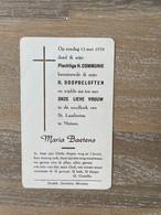 Communie - Maria BAETENS - 1958 - St. Lambertus - MUIZEN - Kommunion Und Konfirmazion