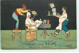 Publicité - Five O'Clock Soja - A L'Armée D'Orient - Edit. Lapina - Advertising