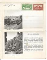Algérie: Carte-lettre Prétimbrée Par La Poste Algérienne En 1938 (voir Description Et Scans) - Cartas