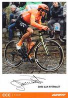 CYCLISME: CYCLISTE : GREG VAN AVERMAET - Cycling