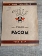 Catalogue FACOM - Collections