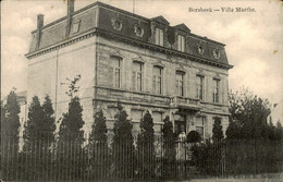 België - Borsbeek Villa Marthe - 1920 - Unclassified