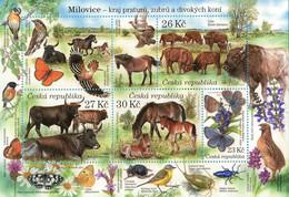 Czech Republic - 2021 - Nature Protection - Milovice National Park - Mint Stamp Sheetlet - Ungebraucht