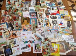 LOT DE 500 CARTES FORMAT 10 X 15  ILLUSTRATEURS DIVERS - 500 Karten Min.