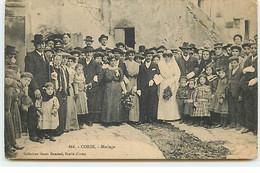 CORSE - Collection Simon Damiani, Bastia - N�666 - Mariage - Autres Communes